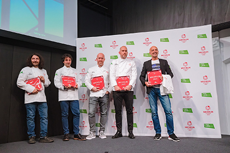 The first six Slovenian Michelin Star Restaurants in history